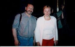 С Людмилой Путиной